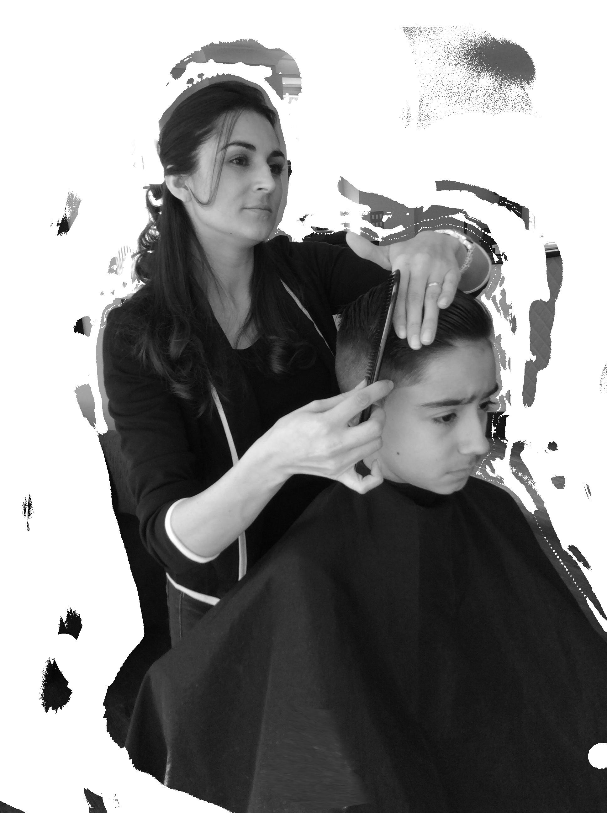 Men's hairdresser in Chessington, UK
